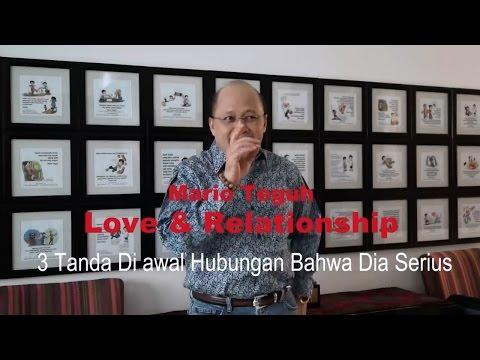 Video 3 Tanda Di awal Hubungan Bahwa Dia Serius - Mario Teguh Love & Relationship