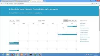 01 - Full Calendar, Instalación
