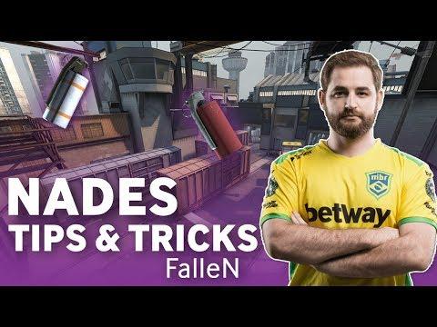 MiBR FalleN CS:GO NADES Tips And Tricks