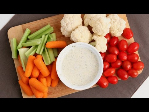 Homemade Ranch Dressing Recipe – Laura Vitale – Laura in the Kitchen Episode 906