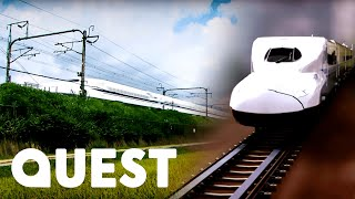 How The Tokaido Shinkansen Bullet Train Works | Rise Of The Machines