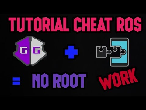 CHEAT ROS PAKE GG NO ROOT!! WORK 100%