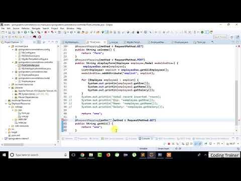 Spring MVC 3 2 7 with NetBeans 8 0 1 MySql Database
