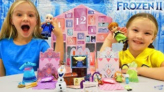 Disney Frozen 2 Advent Calendar! Opening All 24 Days Of Christmas!!