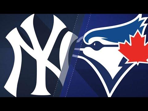Martin, Morales power Blue Jays past Yankees: 9/24/17