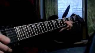 Arch enemy - Angelclaw ( Outro solo guitar cover )