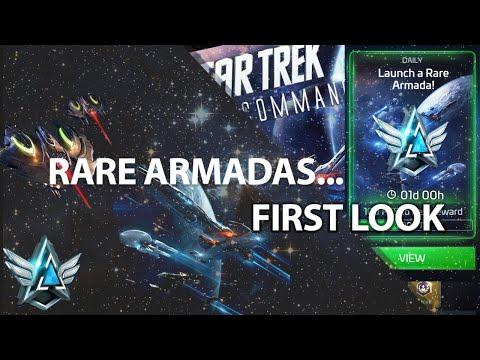 Rare Armadas FIRST LOOK   Star Trek Fleet Command