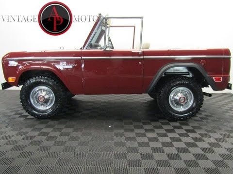 Video of '69 Bronco - PV7J
