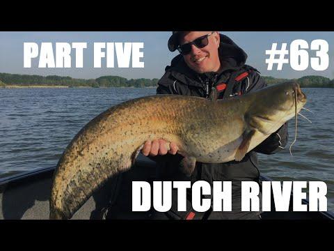 Mallefiskeri på en hollandsk flod