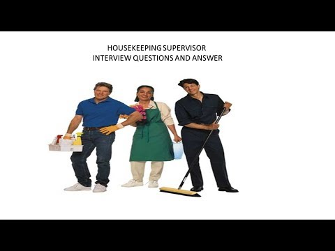mp4 Housekeeping Supervisor, download Housekeeping Supervisor video klip Housekeeping Supervisor