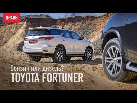 Алексей Смирнов о всех версиях внедорожника Toyota Fortuner