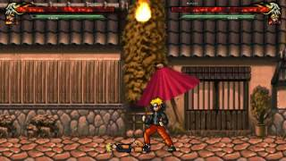 """Naruto. Mugen. The Game. Top Chars Collection. Episode 14 Naruto by """"km team"""". NEW in 2017"""