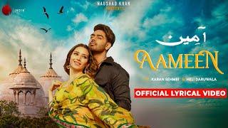 Aameen - Official Lyrical Video   Karan Sehmbi   - YouTube
