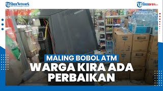 Dikira Warga sedang Perbaikan, ATM Minimarket di Wilayah Sukabumi Ternyata Dibobol Maling