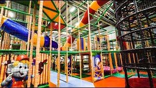 Fun at Busfabriken Indoor Playground