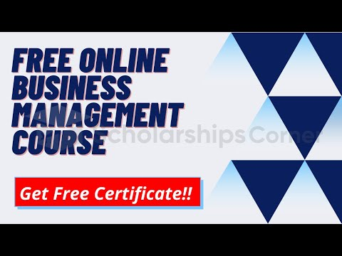 Free Online Business Management Course | King's London College ...