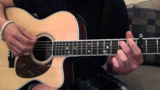 Guitar Tutorial Biggest Man in Los Angeles (Andy Grammer)