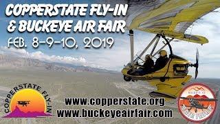 COPPERSTATE Fly-In & Expo & the Buckeye Air Fair, FEB 8-9-10, 2019