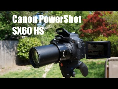 Canon SX60 HS: 65x Optical Zoom & Video Review - Super Zoom!