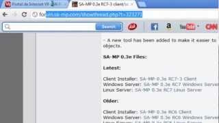 Tutorial para Instalar SAMP 0.3e RC7 + Servidor multiplayer (Zenon Ctiy) por GTA Leales