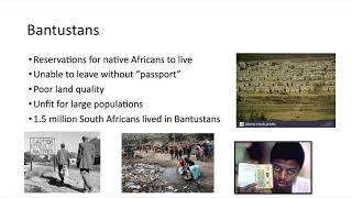 Bantustans-- South Africa