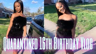 MY QUARANTINED 16TH BIRTHDAY VLOG