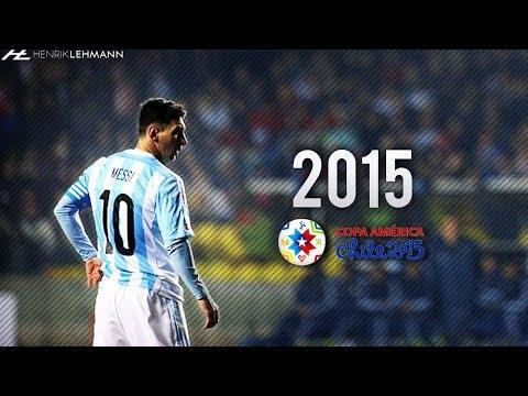 Lionel Messi ● Copa América ● 2015 HD