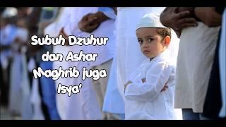 Gambar cover Mari Sholat (parodi lagu Aisyah - Projector Band)
