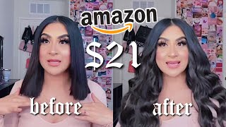 TESTING CHEAP HAIR EXTENSIONS FROM AMAZON   REECHO ♡︎