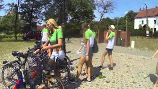 preview picture of video 'Zdrowe Barczewo - mecz przyjazni, rowery, kajaki, pokaz eko-mody'