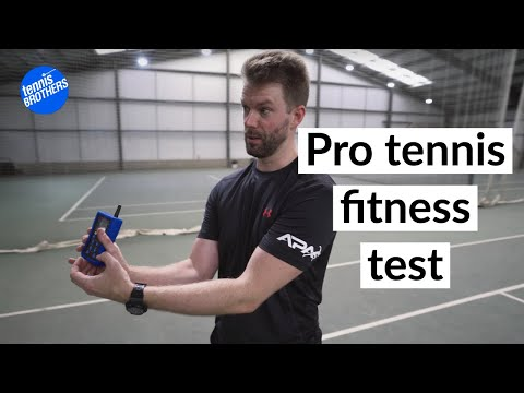 My tennis fitness test experience