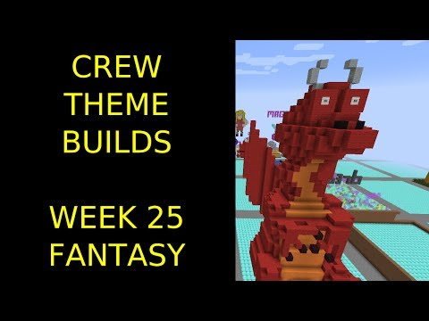 Minecraft - Your Theme Builds - Week 25 - Fantasy