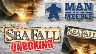 SeaFall Unboxing (Plaid Hat Games) by Man Vs Meeple