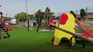 Loc de joaca reabilitat in Parcul Central din Lumina