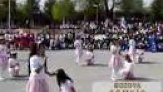 preview picture of video 'Bozova'da yapılan 23 nisan2008 cicikızlar dans gösterisi'