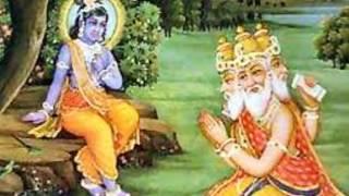 ब्रह्मा द्वारा कृष्ण की स्तुति