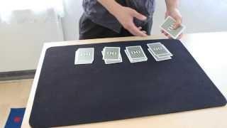 Смотреть онлайн Очень простой фокус с игральными картами