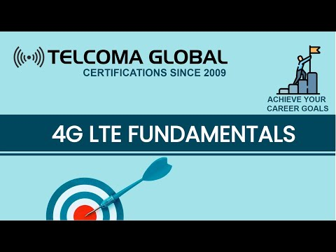 4G LTE Fundamentals training course | What is LTE Network Architecture by TELCOMA Global