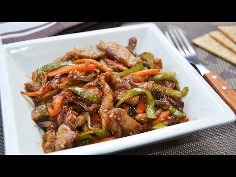 Wok de Ternera y Verduras   Recetas de cocina oriental