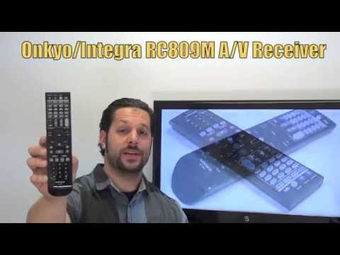 INTEGRA RC809M Audio/Video Receiver Remote Control