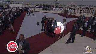 Trump & The Mrs. Mid East Trip (So Much Effection;) - The View