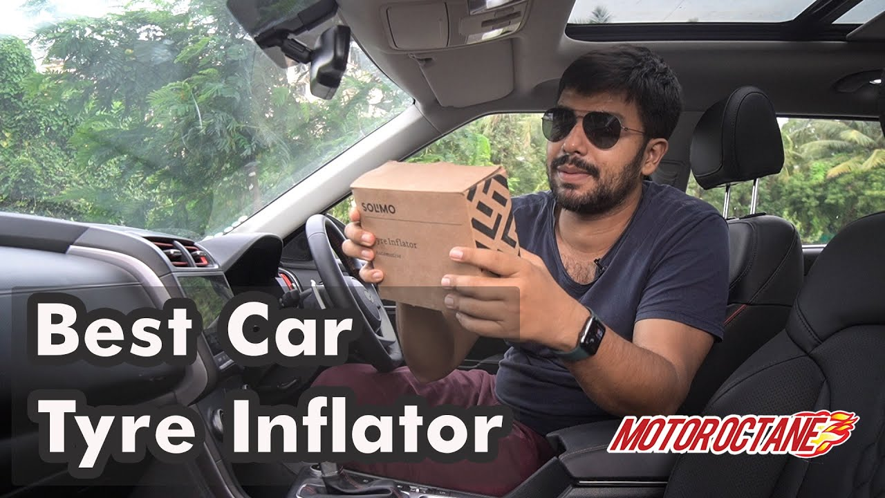 Motoroctane Youtube Video - Best & Cheapest Car Tyre Inflator | Hindi | MotorOctane