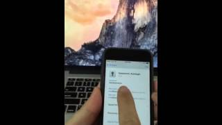 Unlock 1password on Mac using touchid