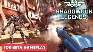 SHADOWGUN LEGENDS - iOS GAMEPLAY ( BETA )