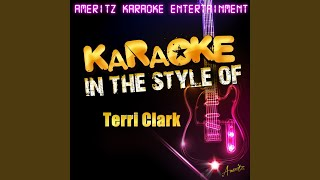 Easy from Now On (In the Style of Terri Clark) (Karaoke Version)