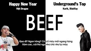 [2011] BEEF : Happy New Year - Việt Dragon & Undergrounds Top - Karik, BlakRay