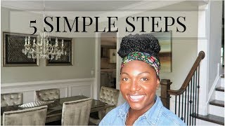 5 STEPS TO MAKE YOUR HOME LOOK EXPENSIVE   EASY HOME DECOR TIPS