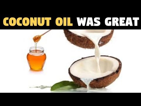 They Said Coconut Oil Was Great For You, BUT This Is What They Didn't Tell You!