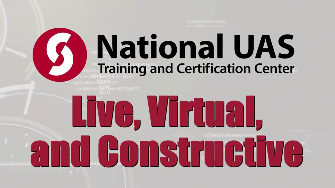 UAS Live, Virtual, and Constructive Simulation
