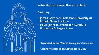 video presentation on voter supression